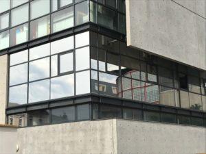 Films solaire pose en extérieur Université du Havre
